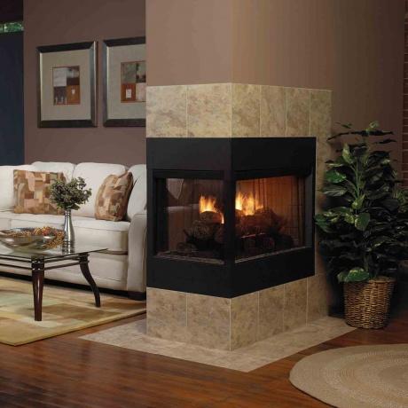 Una hermosa casa cálida para el invierno