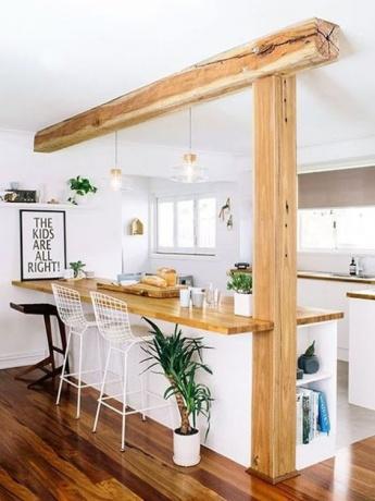 Cocinas abiertas para casas con estilo